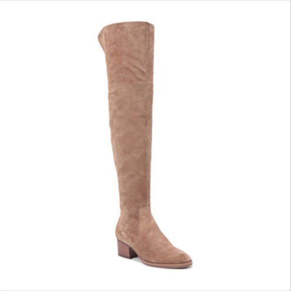 8f0fb55a0a9 Via Spiga Ophira Over the Knee Boot Size 11 Suede